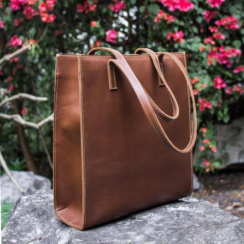 Vintage Women Designer Handbags Brand Full-Grain Cowhide Genuine Leather Women Shoulder Messenger Bag Elegant Totes Handbag все цены