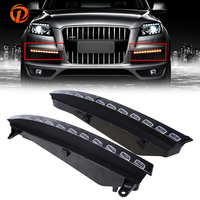 POSSBAY Waterproof 12V Car Fog Lights LED Daytime Running Light DRL Fit For Audi Q7 2005