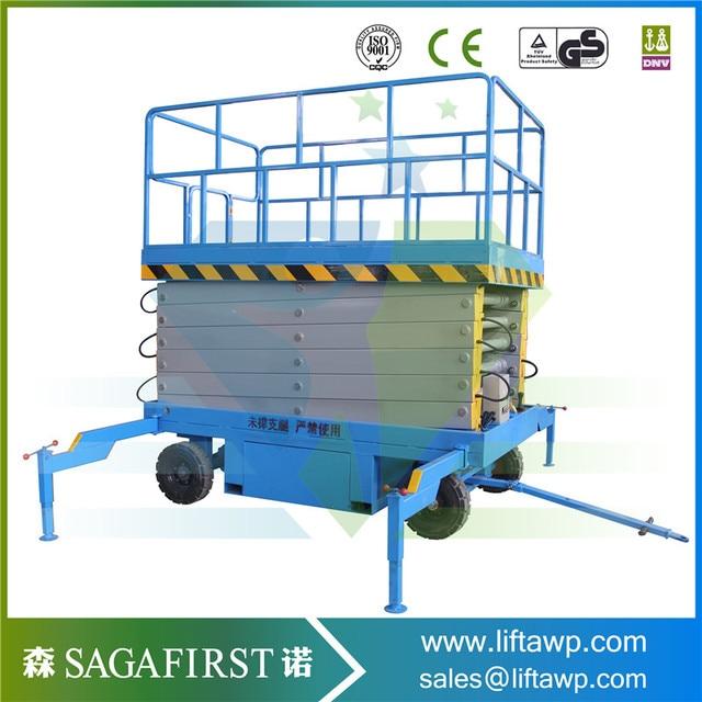 6 12m manual operation vertical lift platform-in Car Jacks from ...