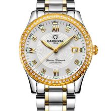 2017 Direct Selling Carnival Brand Watches Men's Automatic Mechanical Watch Diamond Fashion Business Retro Luminous Waterproof
