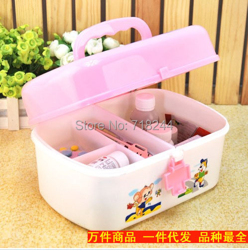 Attirant Multifunction Household Medicine Chest / Art Supplies Storage Box  Childrenu0027s Sorting Box First Aid Kit Storage