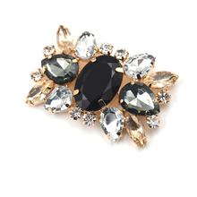1Piece Alloy Rhinestone Shoes Clips, Bridal Wedding Shoes Decorative,Fashion Shoe Accessories, Charm Glass Drill Shoe Buckle