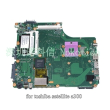laptop motherboard for toshiba satellite A300 A350 V000127130 PN 1310A2171553 pm45 ddr2 with graphics slot