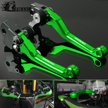 Motorcycle Motocross Pit Dirt Pivot Bike Brake Clutch Levers Brake Clutch Handle Printing For KTM 400EXC 400 EXC 2009 2010 2011