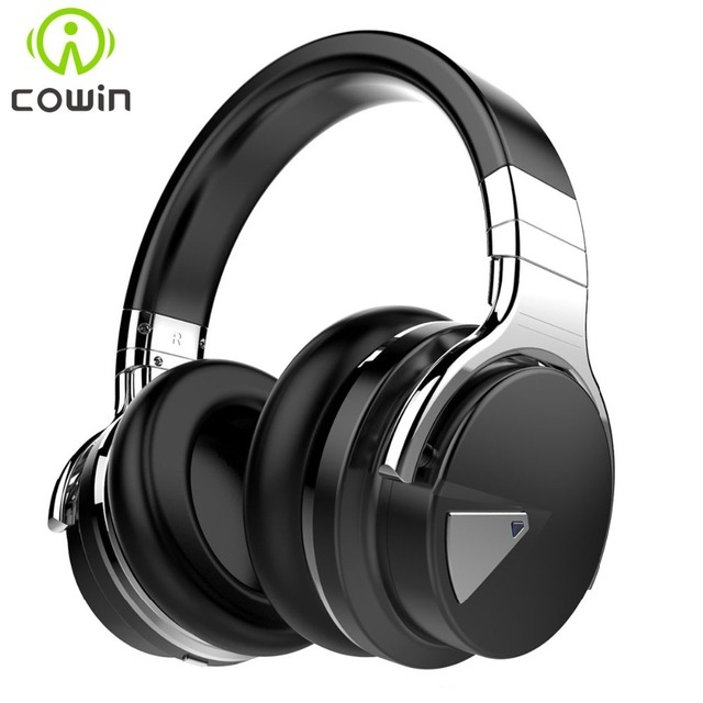 Headphones with Microphone for phone Cowin E-7 Active Noise Cancelling Bluetooth Headphones Wireless Headset Deep bass stereo
