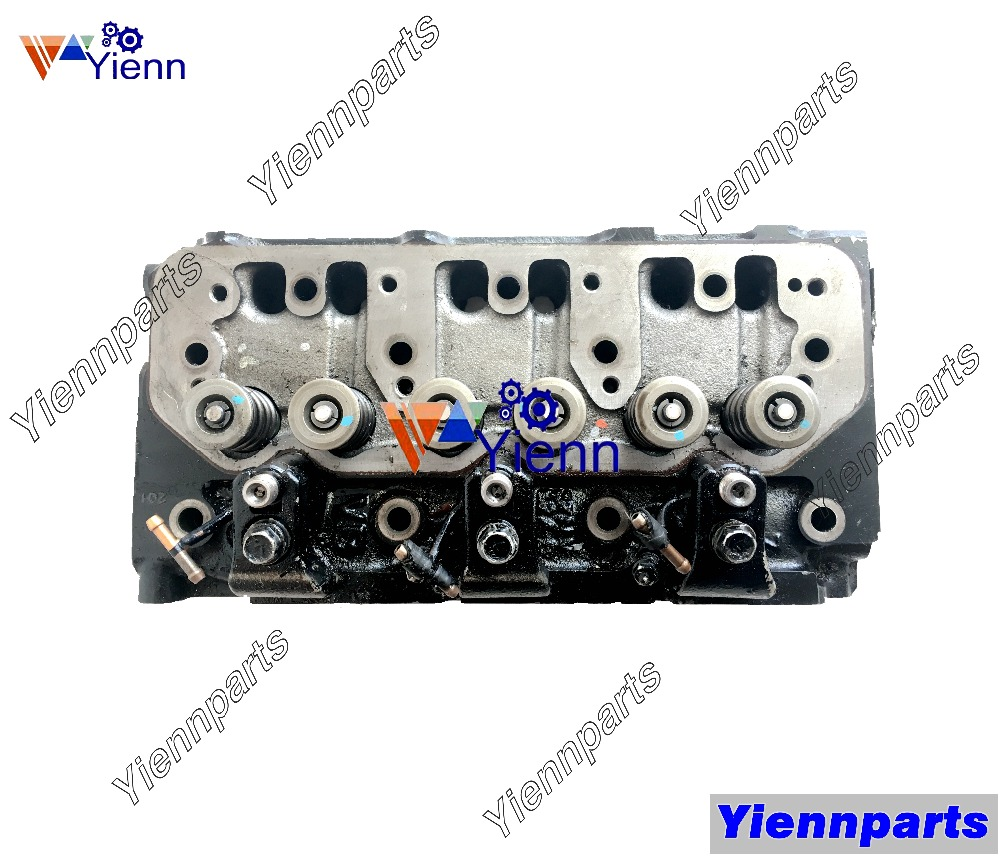 Yanmar 3tnv82a Used Cylinder Head Assy 119802 11700 For Takeuchi Wiring Diagram Tb28fr Tb125 Excavators Qtb Diesel Engine Parts In Pistons Rings