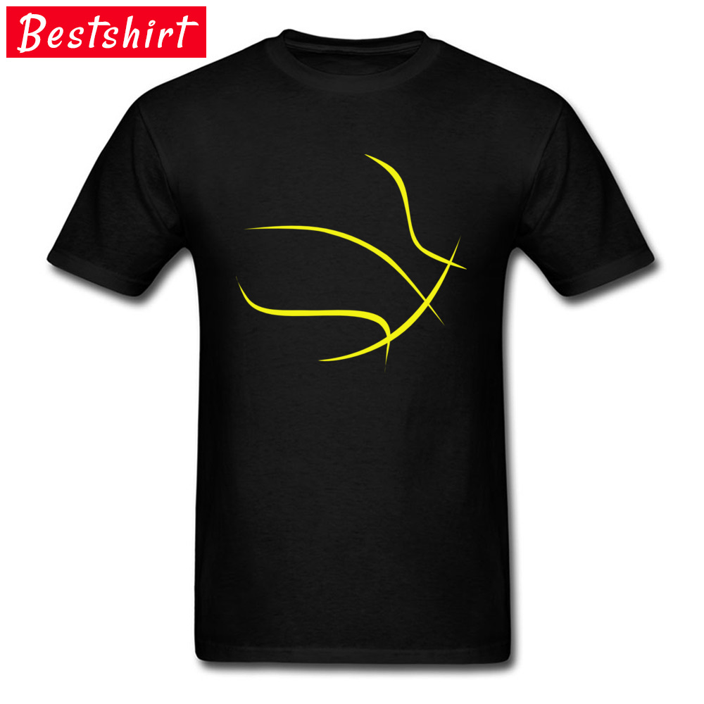 Simple Style Gold Basketballer Soccers Outline T Shirt Nice Tees For Men Back To The Future Well Chosen T-Shirts Ohio State