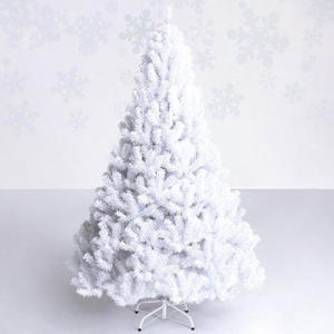 mini christmas tree decorations ornaments artificial - White Mini Christmas Tree