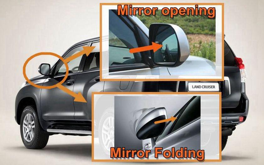 Free & Fast Shipping Mirror Folding Kit for N*I*S*S*A*N Qashqai2008 ...