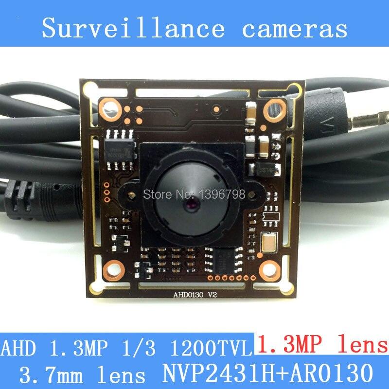 1.3MP AHD AR0130 CCTV 960P mini night vision Camera Module 1/3