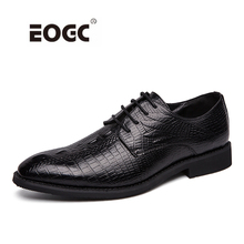 Plus size men dress shoes split leather formal business pointed toe wedding shoes men Dropshipping mycolen men dress shoes split leather men s fashion leather shoes lace up pointed toe male business wedding formal shoes black