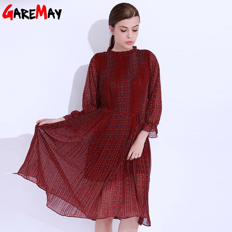 Платья с цветочным принтом - Женская одежда - Фотография 4