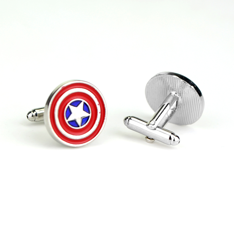 Men's Wedding Cufflinks Superhero Justice League The Avengers DC Marvel Comics