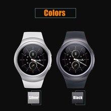 Smartch Tarjeta Nano SIM y Bluetooth Inteligente Reloj Inteligente Reloj T11 Pantalla IPS Monitor Sleep Tracker Podómetro PK gv18 DZ09