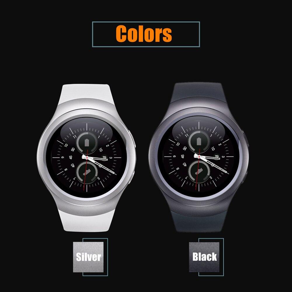imágenes para Smartch Tarjeta Nano SIM y Bluetooth Inteligente Reloj Inteligente Reloj T11 Pantalla IPS Monitor Sleep Tracker Podómetro PK gv18 DZ09