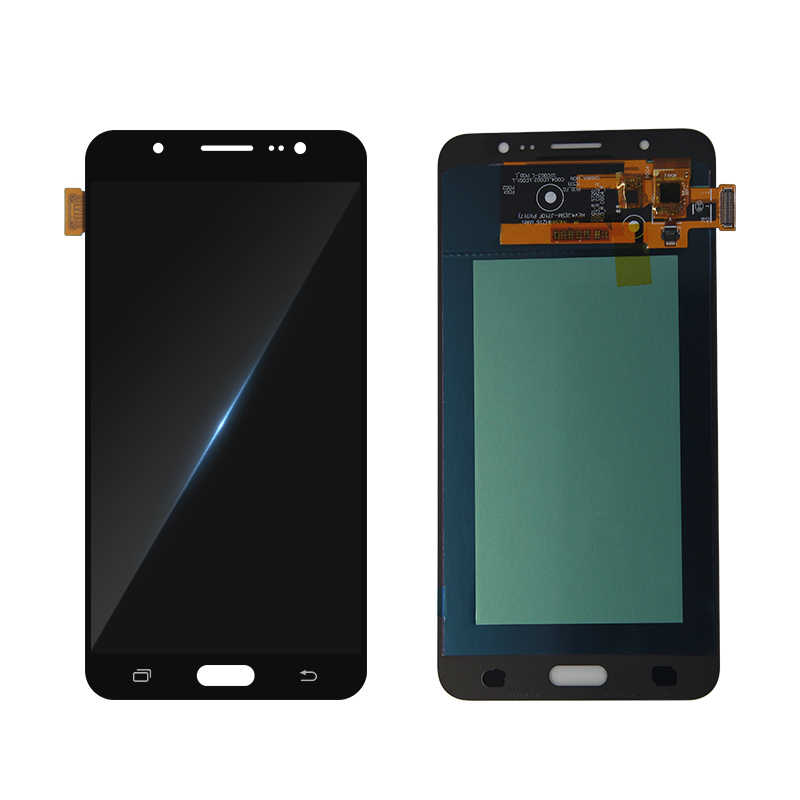 SUPER AMOLED LCD สำหรับ Samsung Galaxy J7 2016 J710 J710F J710M J710H J710FN จอแสดงผล LCD Digitizer หน้าจอสัมผัส J710 จอแสดงผล
