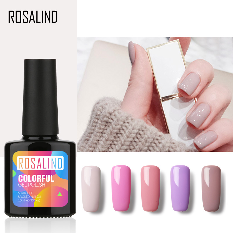 Gel Nail Polish Sale: ROSALIND Gel 1 P+Black Bottle 10ML HOT SALE 29 COLOR Gel