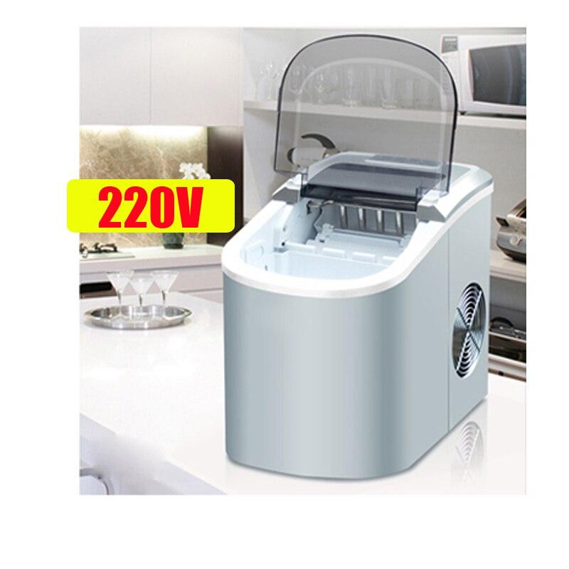 Machine à glace électrique à la maison de glace de balle de Machine à glace de 15 KG/24 H Machine de fabrication de glace ronde grand Bar café Teamilk Shop 220v rouge/argent - 5