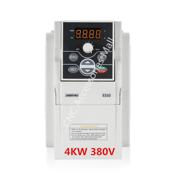 Original AC380V Frequency Inverter E550-4T0040B VFD 4kw E550 1000HZ with RS485 interface, support MODBUS