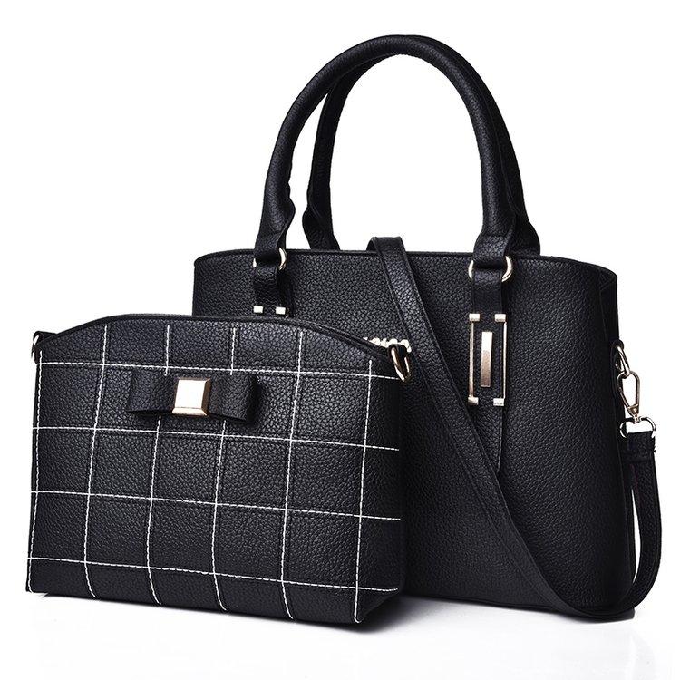 2018 new fashion women's bag two-piece shoulder bag 1