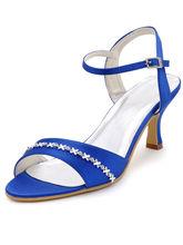 Tacones altos sommer hochzeit absatzschuhe alias cristalinas satin OL sandalen schuhe sandalen pumpen RR-137 YY