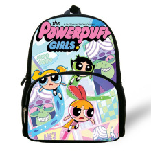 Cartoon The Powerpuff Girls Print Children School Bags for Bookbag Best Gift Bag Kindergarten Daily Backpack Baby Kids