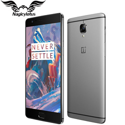 Original Brand New Oneplus 3 A3000 Mobile Phone 6GB RAM 64GB ROM Snapdragon 820 Quad Core 5.5 Fingerprint Smartphone