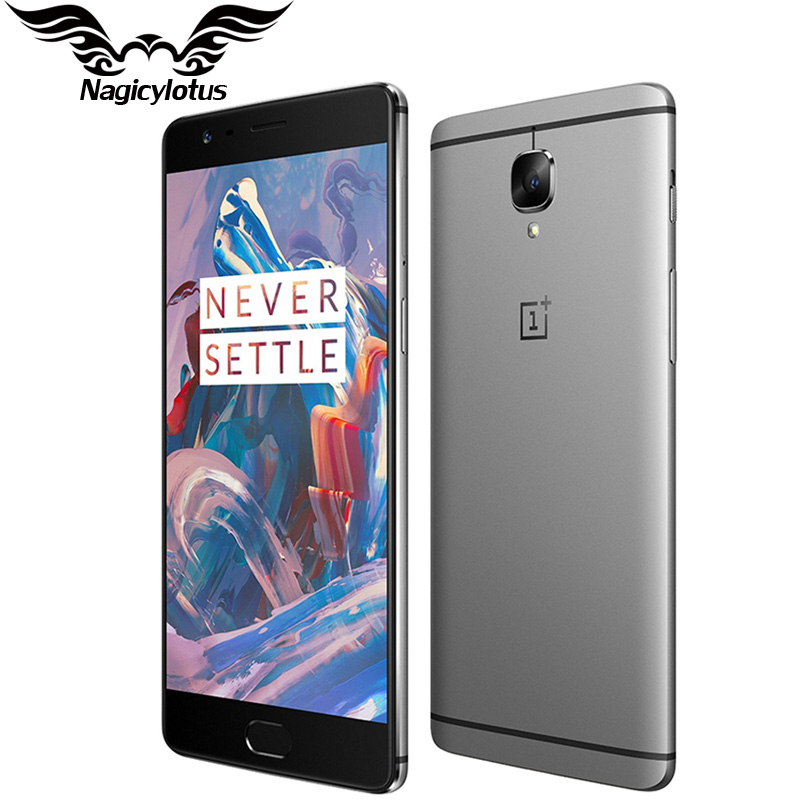 Originale di Marca Nuovo Oneplus 3 A3000 Del Telefono Mobile 6 gb di RAM 64 gb ROM Snapdragon 820 Quad Core 5.5 di Impronte Digitali smartphone