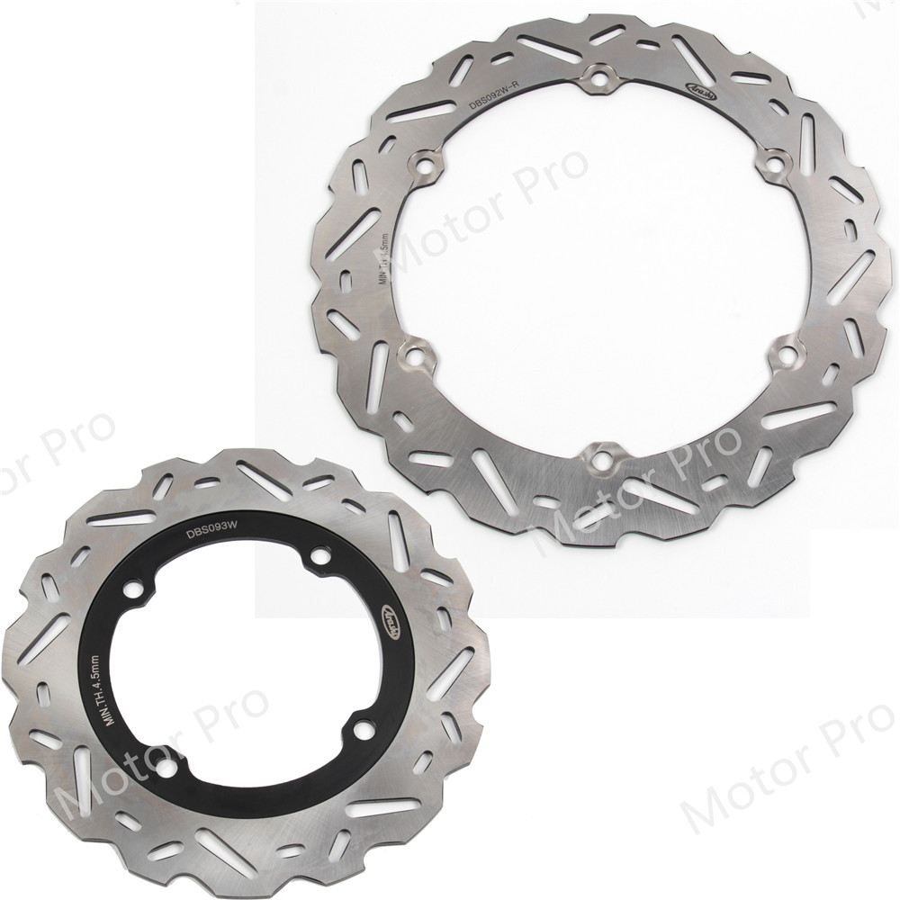 For Honda CB500R 2013 2014 2015 Front Rear Brake Disc Disk Rotor Kit Motorcycle Accessories CBR