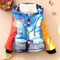 Boys Winter jacket Cotton Long sleeve Kids Winter Jacket Casual Regular Warm  Children's Winter Jackets Outwear Kids Clothing