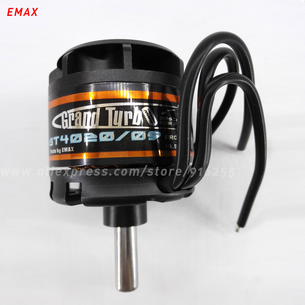 все цены на EMAX rc 470kv 620kv brushless motor outrunner model airplane engine 8mm shaft 5-6s for aircraft electric vehicle accessory онлайн