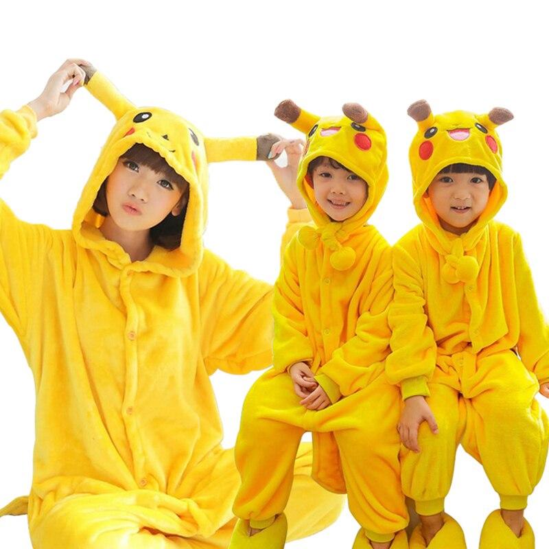 Homewear Erwachsene Kinder Pyjamas Pikaqiu Minions Cosplay Unisex - Kinderkleidung - Foto 2