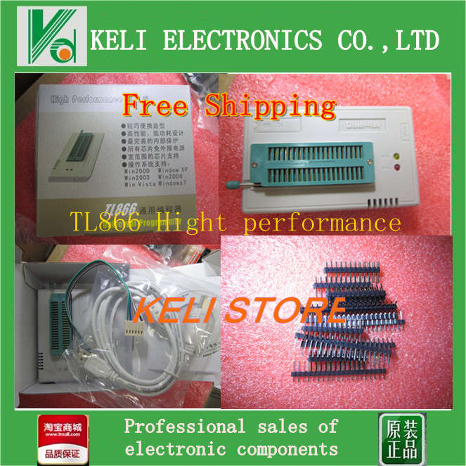 Free Shipping TL866A TL866 High Performance Willem Universal Programmer Support ICSP Support FLASH EEPROM SOP PLCC