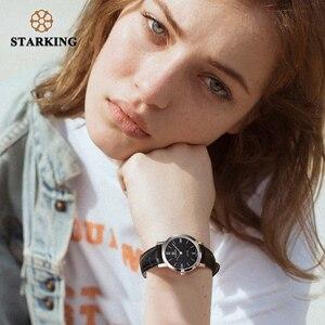 Image 5 - Starking relógio feminino slim de 6mm, relógio de aço inoxidável de quartzo, moderno, vintage