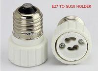 10pcs E27 to GU10 Adapter Converter Base holder + 10pcs E27 to G5.3 MR16 socket for LED Light Lamp Bulbs E27 to gu10 mr16 g5,3