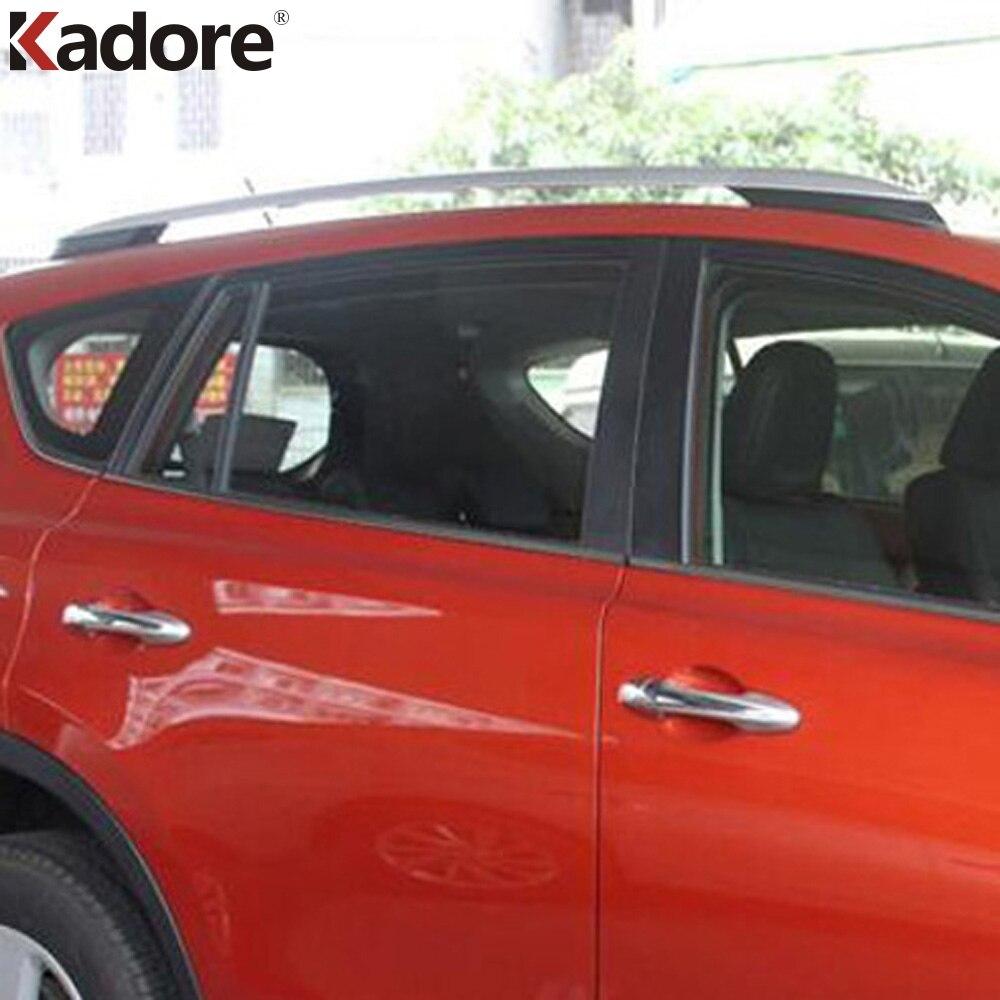 っPara Toyota RAV4 2014-2017 aleación de aluminio astilla barras de ...