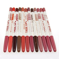 Wholesale Price 12 Pcs Waterproof Lip Liner Pencil Long Lasting Lipliner Professional Makeup Tool