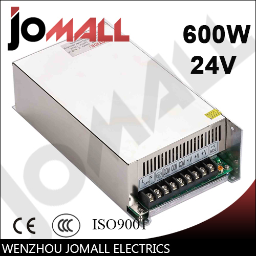 600w 24v 25a Single Output switching power supply 600w 5v 80a single output switching power supply