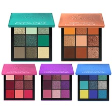 MIAOOL New 5 Style Eyeshadow Makeup Pallete With Mirror Glitter Matte Shadow Highly Pigmented Nude Shinning Pressed