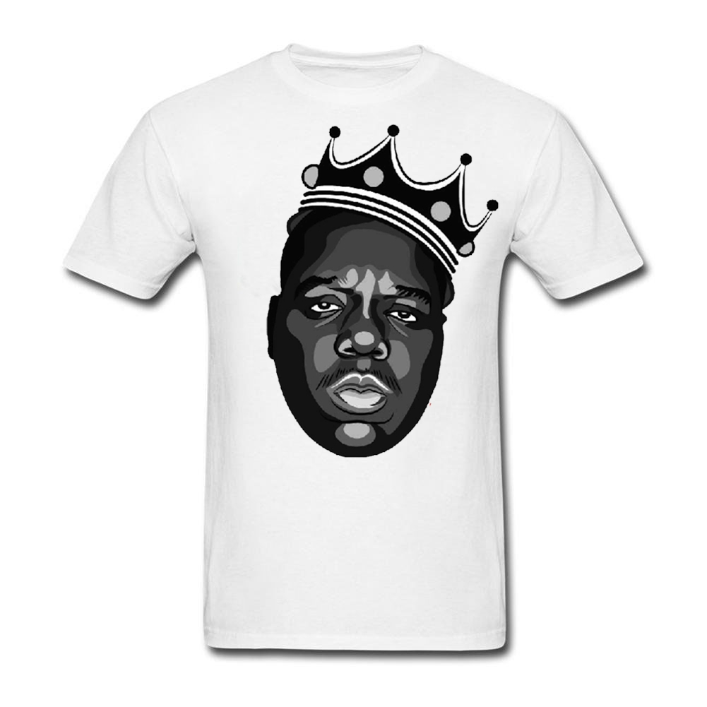Zazzle t shirt design size - Tshirts Custom Printed Notorious Big Men Design A T Shirt Cotton Short Sleeve Big Size China