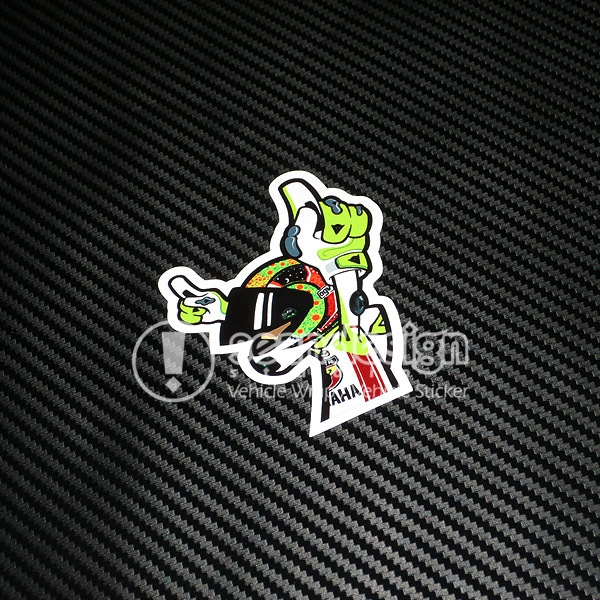 Rapro Graphics Valentino Rossi the Doctor Decals//Stickers Pair