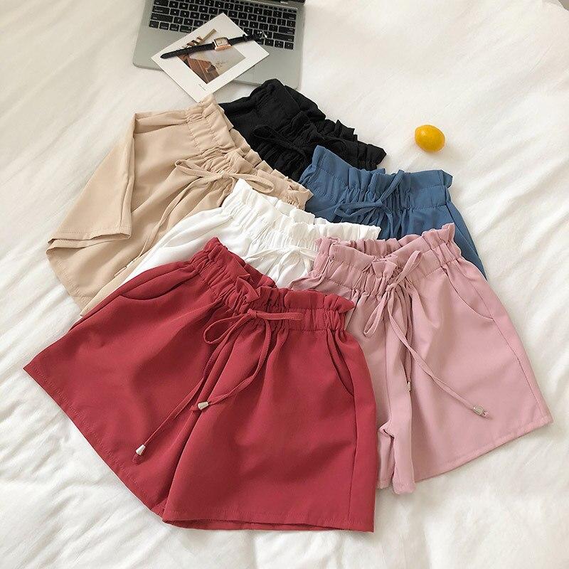 Solid color kawai shorts9