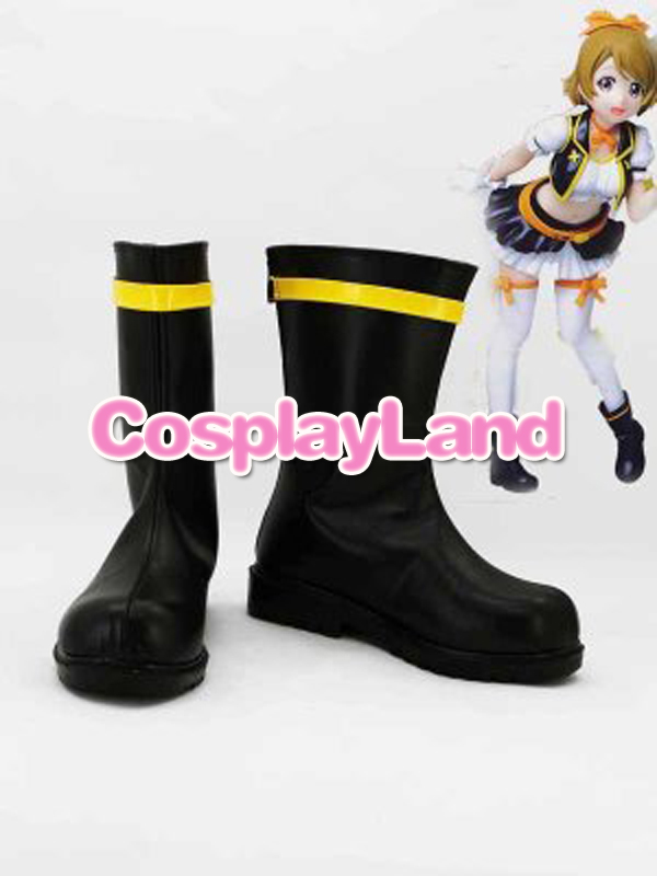 Customize Boots Love Live ! Koizumi Hanayo Cosplay Boots Cosplay Costume Anime Party Shoes