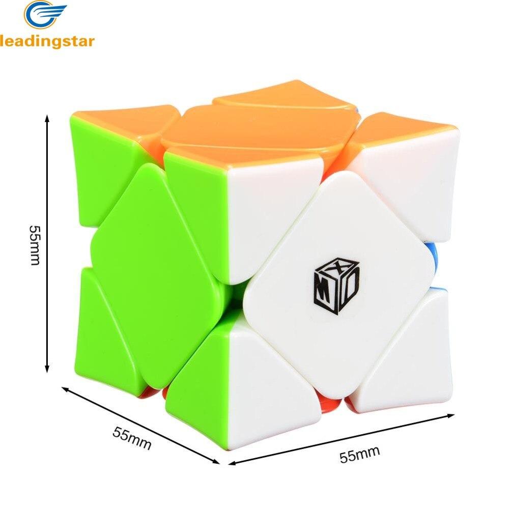LeadingStar Magnétique Magic Speed Cube Wingy Concave Stickerless Cubo Puzzle Jouets Éducatifs Pour Enfants Enfants Cadeau zk25
