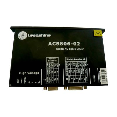 ACS806-02 AC Motor Driver for Infiniti / Challenger FY-3206HA / FY-3208HA  challenger infiniti printer leadshine ac servo motor driver acs806 03 for fy 3206ha fy 3208ha printer