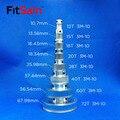FitSain-3M 12т/15Т/18Т/20Т/28Т/40т/60т/72т редукционный коэффициент привода синхронного колеса из алюминиевого сплава