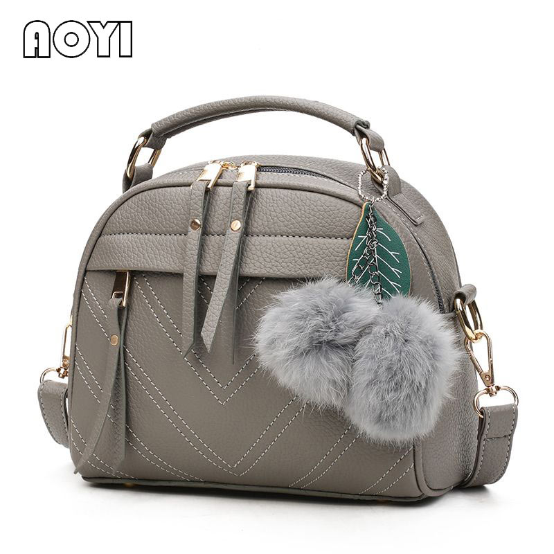 AOYI New Listing PU Leather Handbag Fashion Shoulder Bag Lady Leisure Messenger Bag Brand Women Messenger Bag for Wome Bags