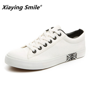 Image 2 - Flat Shoes Men Canvas White/Black Solid Sneakers Lightweight Breathable Foodwear New Fashion Casual Shoes Mens Male