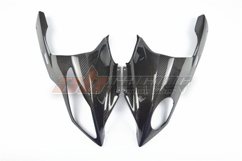 Head Cowl  For BMW S1000RR 2009 - 2014  Full Carbon Fiber, 100%, Twill
