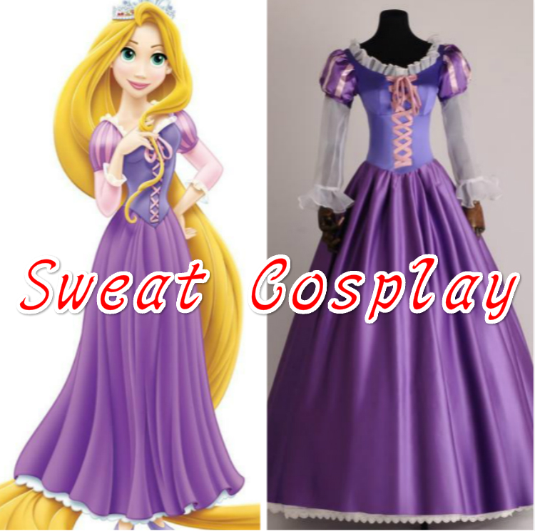 2016 sexy costumes for women Tangled Rapunzel cosplay costume Adult Princess Rapunzel Dress Cosplay Carnival costume-in Movie u0026 TV costumes from Novelty ...  sc 1 st  AliExpress.com & 2016 sexy costumes for women Tangled Rapunzel cosplay costume Adult ...